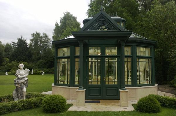 hochwertige pavillons ma arbeit conservatories. Black Bedroom Furniture Sets. Home Design Ideas